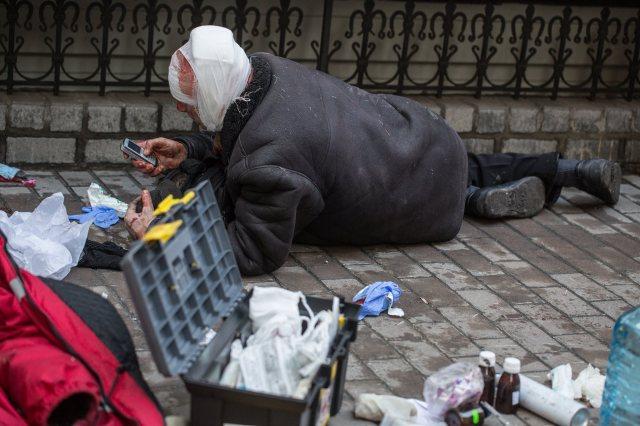 Kiev protests 18. February