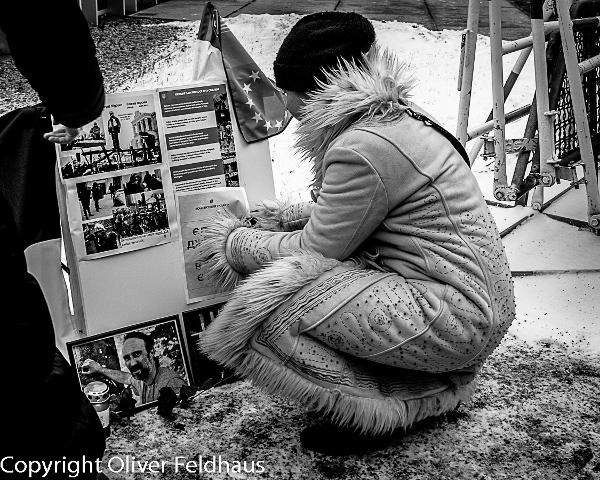 Euromaidan-Wache Berlin, © Oliver Feldhaus