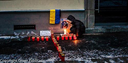 Stop terror in Ukraine © Oliver Feldhaus