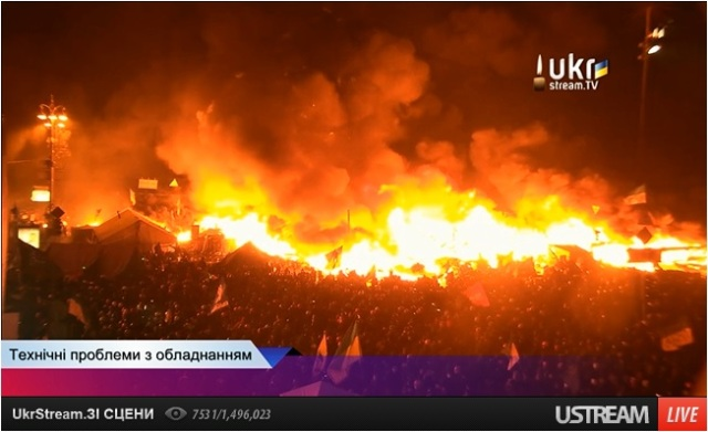 Euromaidan translation from Ukrstream