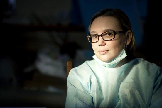 Physicians at Maidan, Vika Yaasins'ka