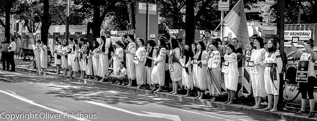 Stummer protest © Oliver Feldhaus