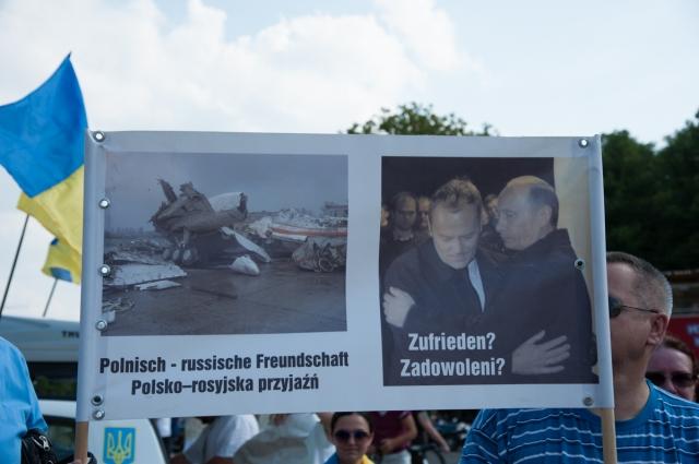 Automaidan demo, Berlin